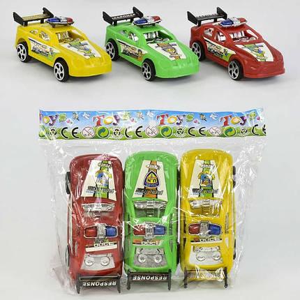 Набор машин, инерционные, 3 цвета, 3шт/упак., 524S-3, фото 2