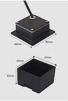 Світильник для підсвічування фасадів і ступенів К-2413 LED 5w 3000K IP65 сірий, фото 3