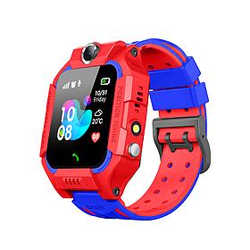 Детские умные часы Baby Smart Watch flame-red