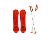 """Детские лыжи """"SKI BIG FOOT"""", красные, 6586КРАСН"""