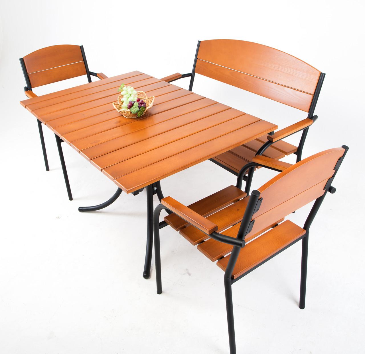 "Комплект мебели для кафе Микс-Лайн ""Фелиция"" Тик"