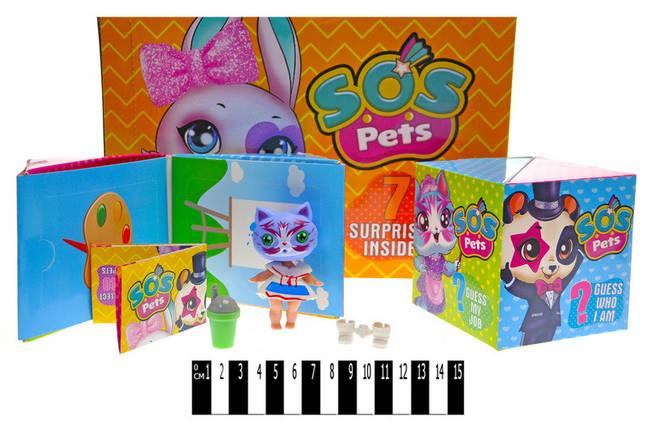 """Фигурка-сюрприз """"Милые зверьки SOS PETS"""", TM101-2B12, фото 2"""