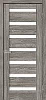 "Двері міжкімнатні ОМіС ""RINO 07G"" дуб Денвер + скло (Natural Look) (600,700,800,900 мм)"