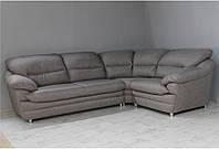 Кутовий диван Вайн (рогожка коричнева)