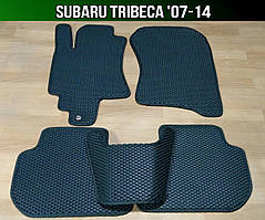 Килимки Subaru Tribeca '07-14. Автоковрики EVA Субару Трайбека