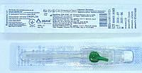 Канюля (катетер) внутривенная с портом G18 УНОФЛОН / IGAR (1,3*45 мм) с портом зеленая