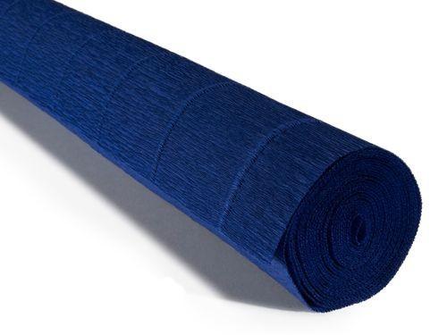 Бумага креповая, синий № 555, 50*250 см, 180 г/м2, Cartotecnica Rossi, 6055508