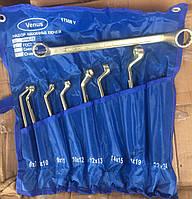 Набір ключів Накидні 6 шт.( Оцинковані), фото 1