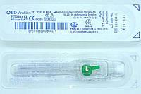 Канюля (катетер) внутривенная G 18 (1,2*45 мм) зеленая/ BD Venflon, фото 1