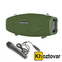 Комплект Портативная колонка Bluetooth Hopestar X/H1 | Проводной микрофон | Блок питания 15V3A