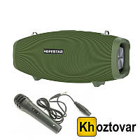 Портативная колонка Bluetooth Hopestar X/H1 | Проводной микрофон | Блок питания 15V3A