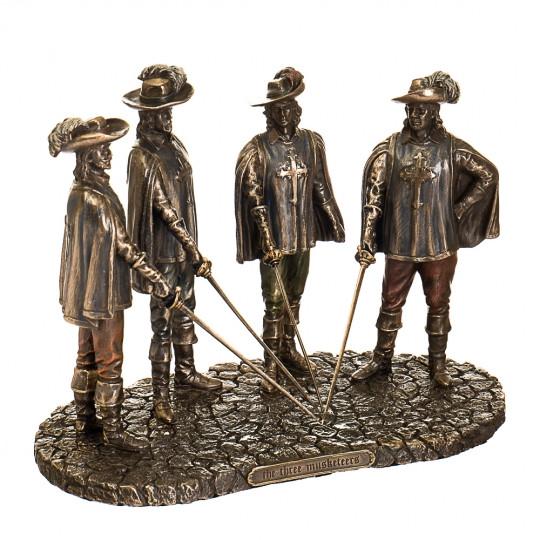 """Статуэтка """"Три мушкетёра"""" (15см) (77394A4)"""