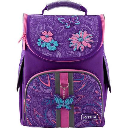 Рюкзак школьный каркасный Kite Education Flowery K20-501S-6, фото 2