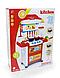 Игровая детская кухня, плита, посуда, продукты со звуковыми и световыми эффектами, фото 2