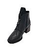 Черные кожаные ботинки. Маленькие размеры (33 - 35), фото 3