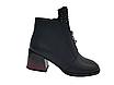 Черные кожаные ботинки. Маленькие размеры (33 - 35), фото 2