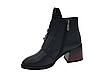 Черные кожаные ботинки. Маленькие размеры (33 - 35), фото 4