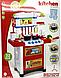 Игровая детская кухня, плита, посуда, продукты со звуковыми и световыми эффектами, фото 5