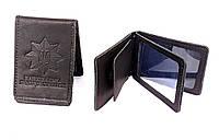 Обложка Национальной полиции под жетон из натуральной кожи