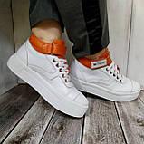 Високі кросівки жіночі Натуральна шкіра Можливий відшиваючи у інших кольорах, фото 2