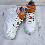 Високі кросівки жіночі Натуральна шкіра Можливий відшиваючи у інших кольорах, фото 7