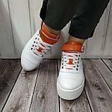 Високі кросівки жіночі Натуральна шкіра Можливий відшиваючи у інших кольорах, фото 8