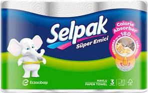 Кухонное полотенце Selpak Calorie 3 шт