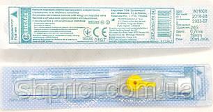 Канюля (катетер) внутрішньовенна з портом G24 Medicare (0,7*19 мм) жовта