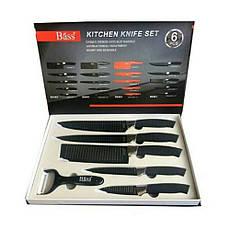 """""""Bass"""" KITCHEN KNIFE SET (6 pcs) - набор ножей из нержавеющей стали (6 штук), фото 2"""