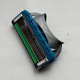 Сменные лезвия для бритвы станка Gillette Fusion кассеты для бритья 1 шт, фото 2