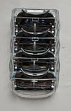 Сменные лезвия для бритвы станка Gillette Fusion кассеты для бритья 1 шт, фото 3