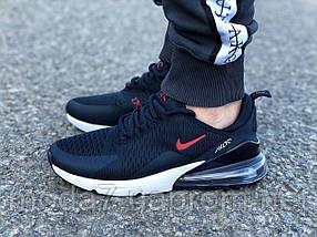Мужские кроссовки реплика Nike Air Max 270 синие, фото 3