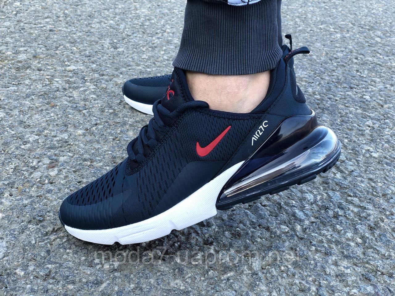 Мужские кроссовки реплика Nike Air Max 270 синие