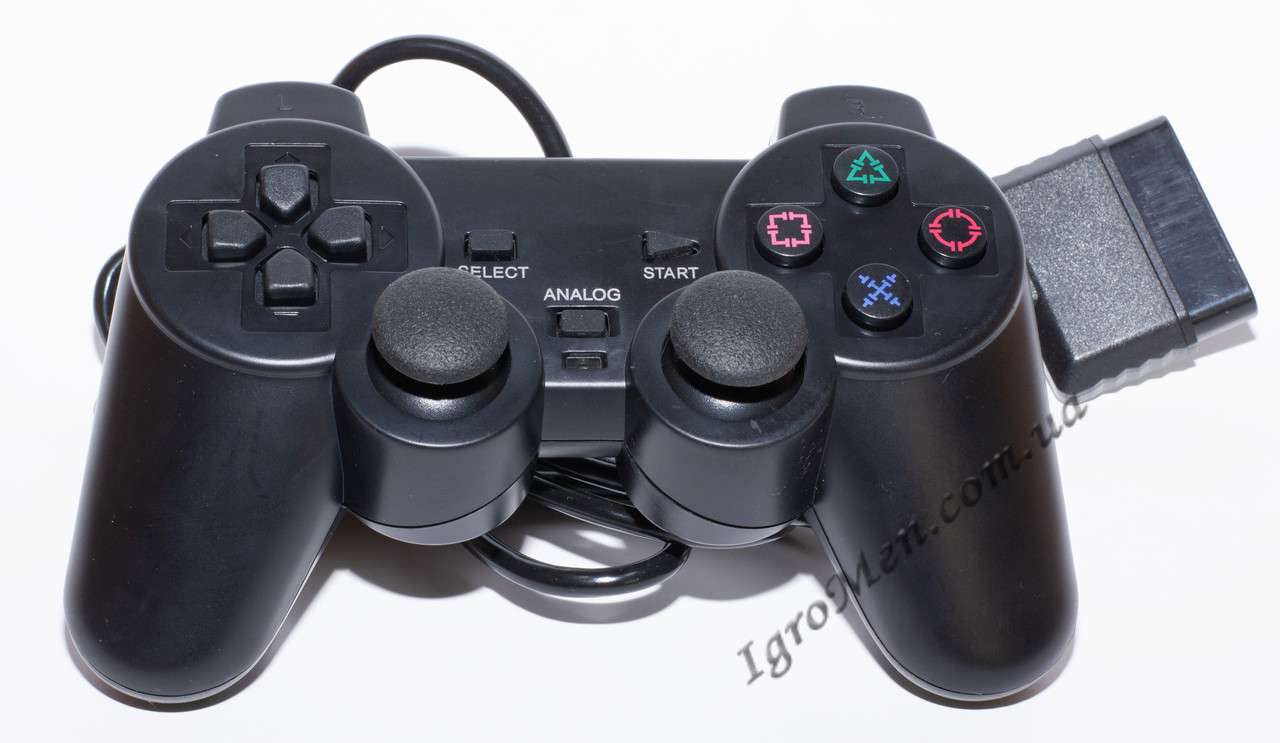 Джойстик PS2/PS1 (проводной, DualShock Sony PlayStation)