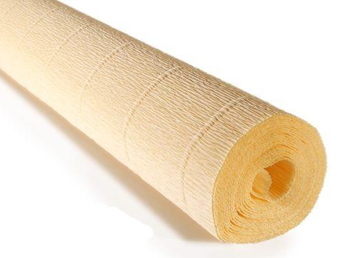 Бумага креповая, нежный желтый № 577, 50*250 см, 180 г/м2, Cartotecnica Rossi, 6057700