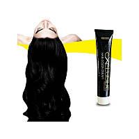 Стойкая крем краска для волос Чёрный 1.0 Εxclusive Hair Color Cream 100 мл