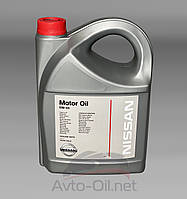 Масло моторное Nissan Motor Oil 5w40- 5L