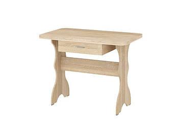 Кухонный Стол Простой (с ящиком) Дуб Сонома, фото 2