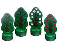 Мягкий набор Дидактическое дерево, фото 1