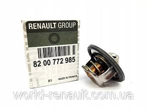 Renault (Original) 8200772985 Термостат на Рено Симбол, Клио 1.4i 8V К7J, 1.6i 16V K4M, 1.4i 16V K4J