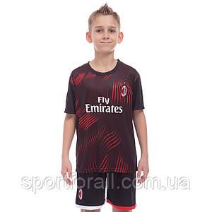 Форма футбольная детская AC MILAN резервная 2020  CO-0979
