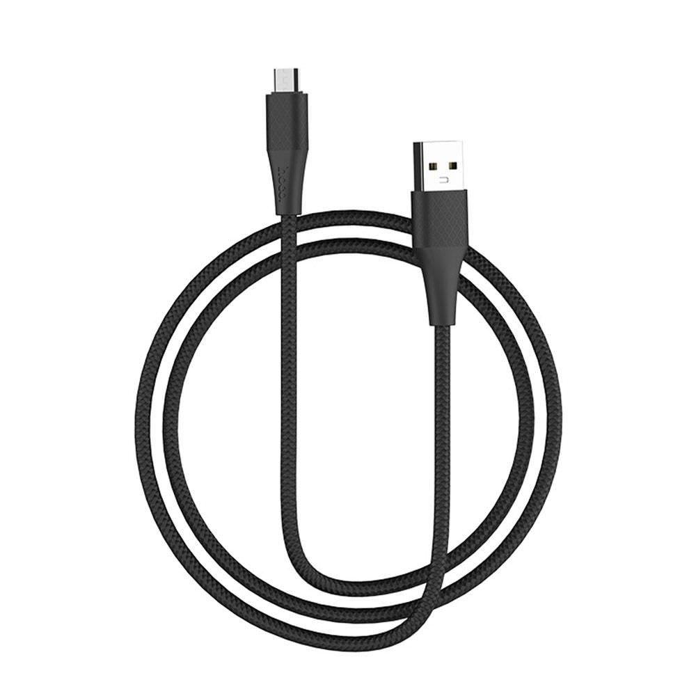 Кабель синхронізації HOCO X32 Excellent Micro USB Cable 1m Black