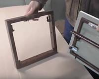Съёмный люк под плитку 400*400 мм (40*40 см)