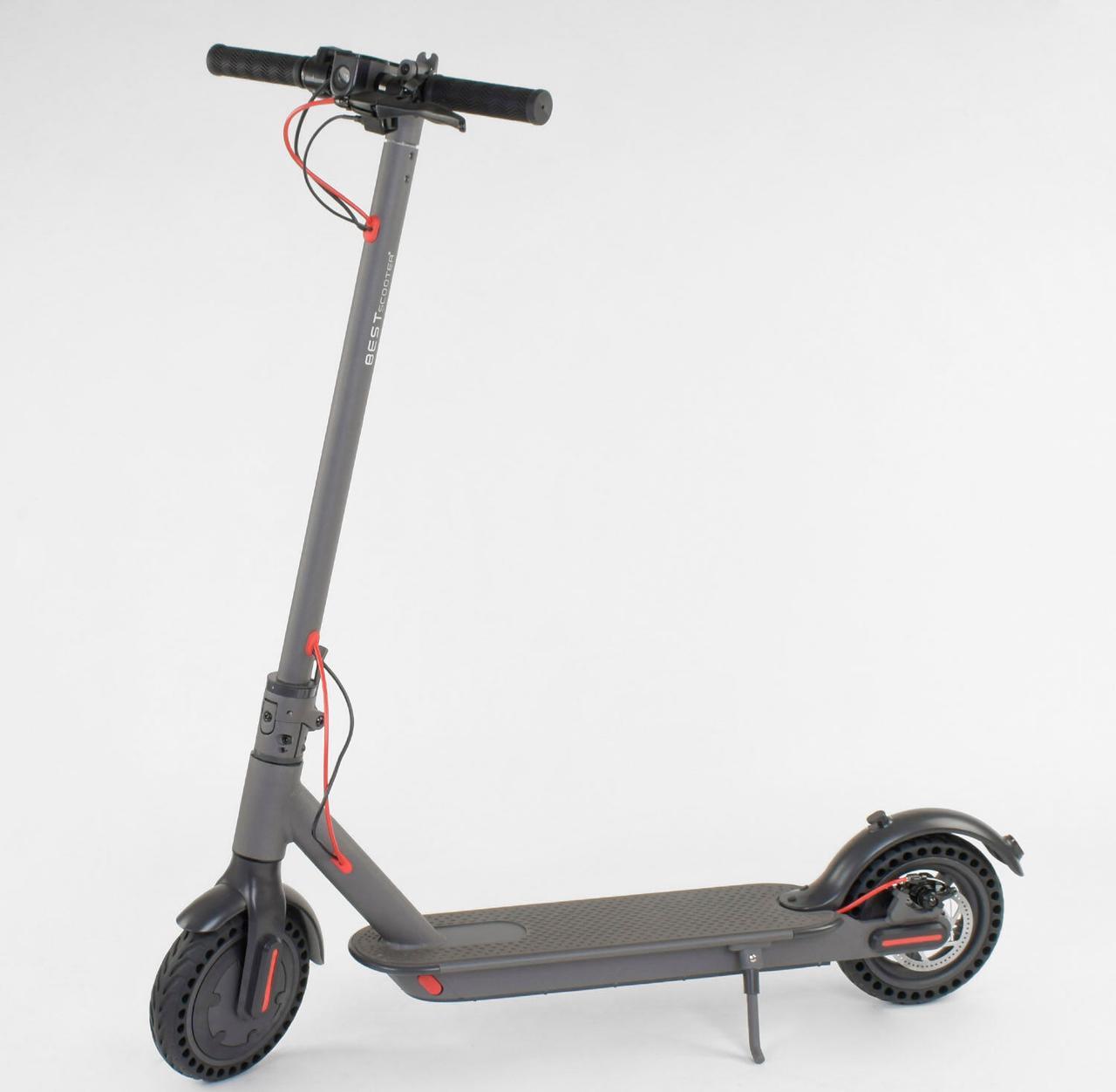 "Электросамокат SD- 2205 ""Best Scooter"" цвет СЕРЫЙ"