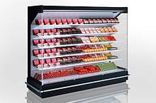 Холодильные пристенные регалы (Горки)