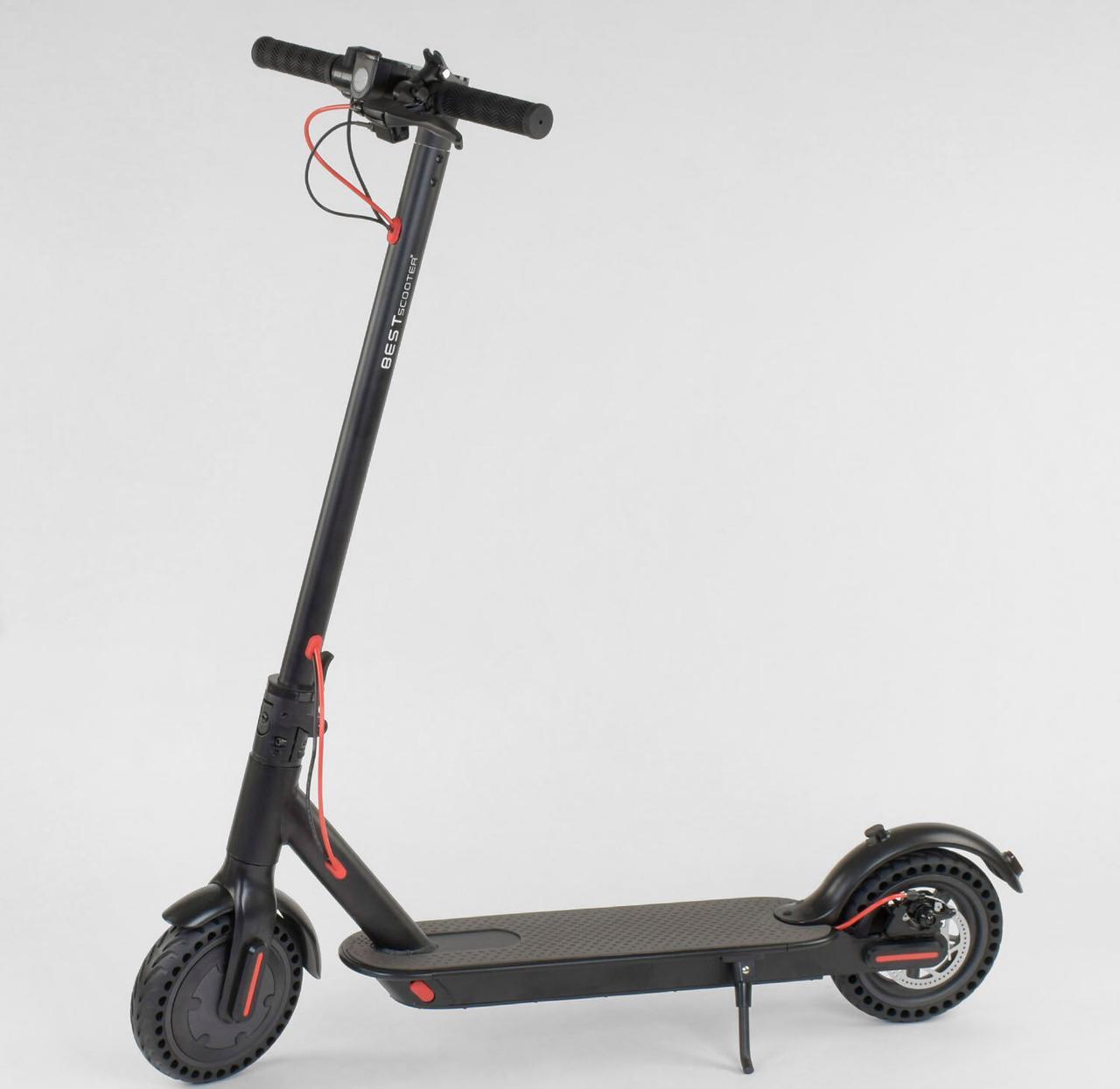 "Электросамокат SD- 3678 ""Best Scooter"" цвет Черный"