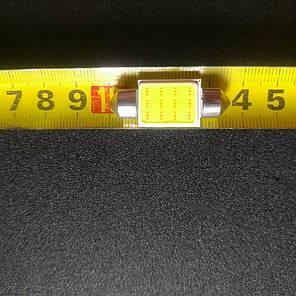 Светодиодная лампа для салона авто 0.9 w супер яркая 36 мм C5W, фото 2