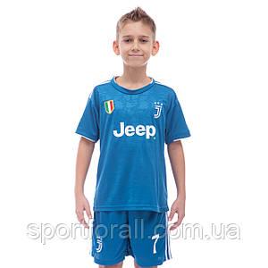 Форма футбольная детская JUVENTUS RONALDO 7 резервная 2020 CO-1036