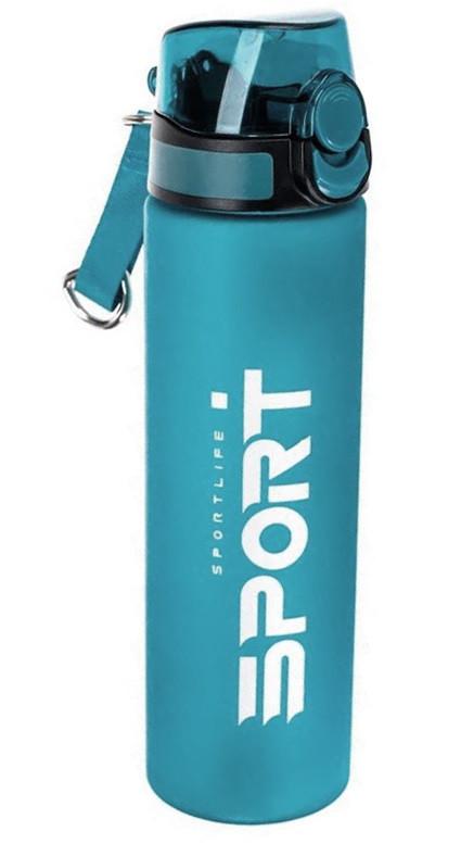 Пляшка-поїлка спортивна ST01474 750 мл, бірюзова