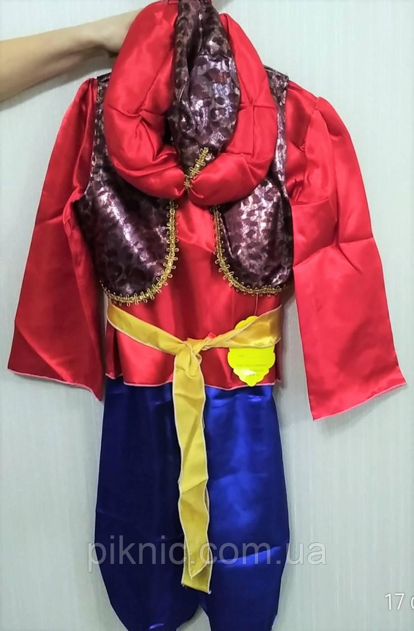 Костюм Аладин 6-8 лет Детский новогодний карнавальный костюм для мальчиков 344